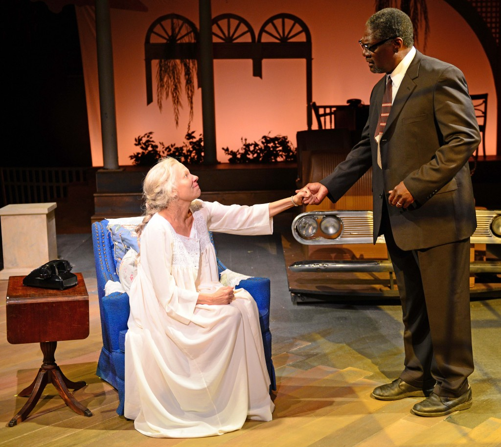 "Lindsay Crouse (as Daisy Werthen) and Johnny Lee Davenport (as Hoke Colburn) have been nominated for Best Actress and Best Actor, respectively, for a Midsize Theatre for their work in ""Driving Miss Daisy."" Benny Sato Ambush has also received a nomination for Best Director as has Gloucester Stage for Best Production."